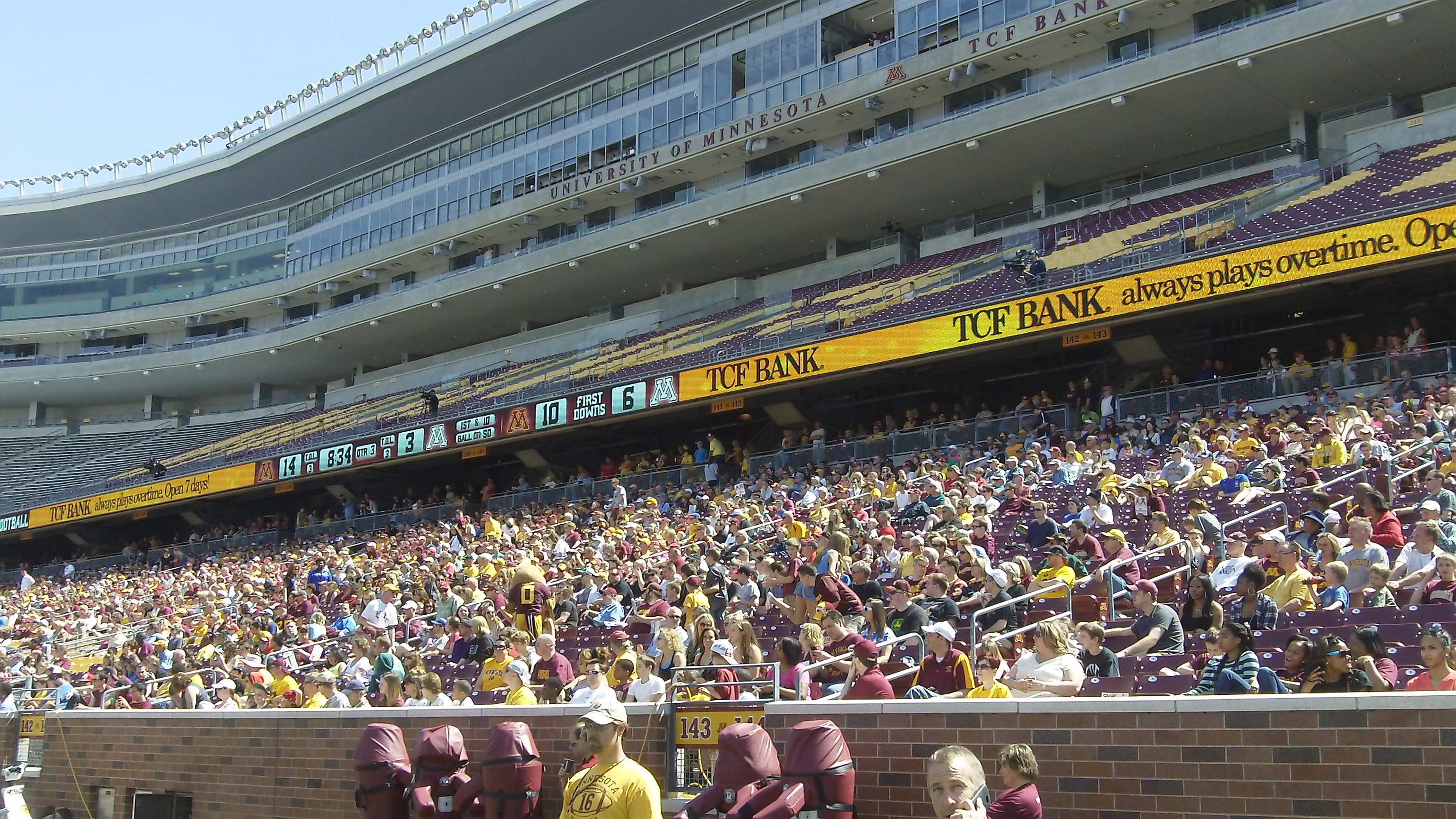 Gopher Football: Offense shows up to 2013 Spring scrimmage ...