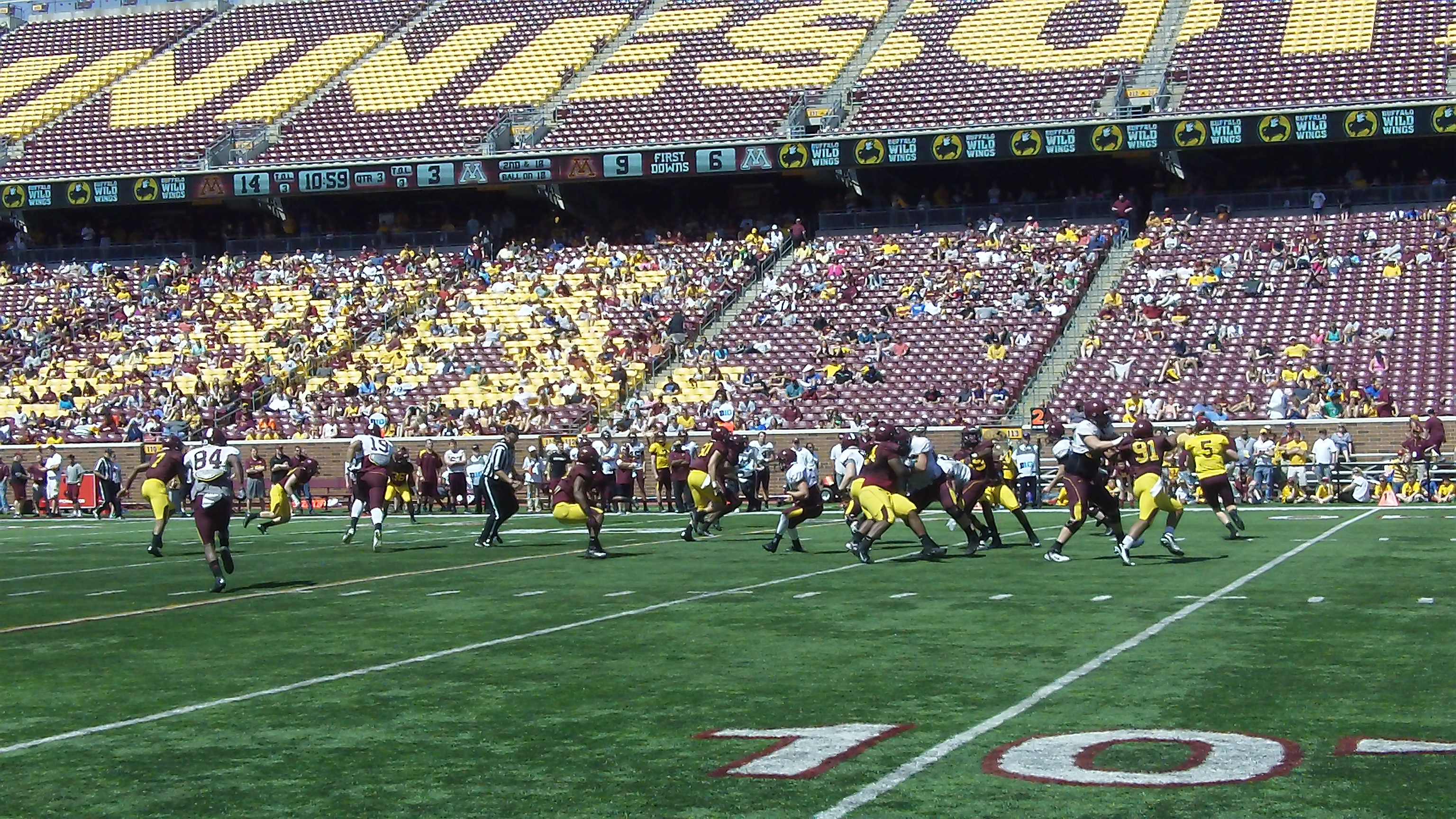 Gopher Football: A positive spin on a tough schedule ahead ...
