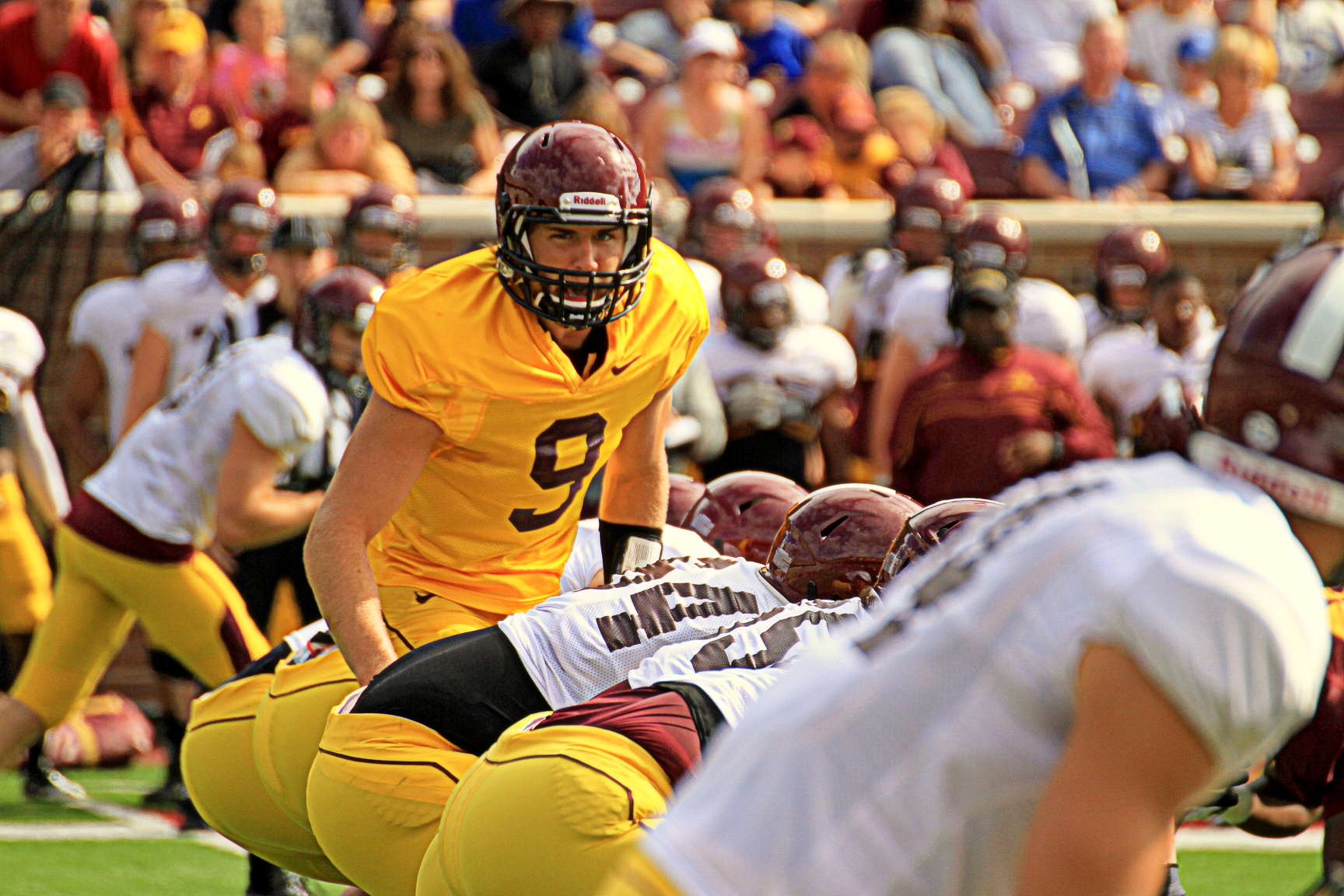 On Tuesday The Golden Gophers Released Their Depth Chart And Injury Report For Season Opener